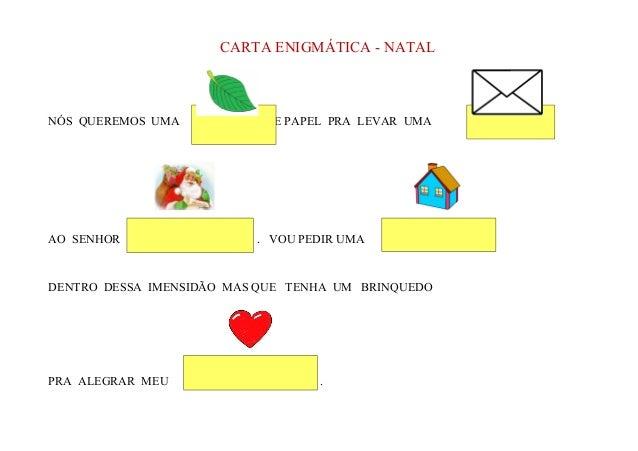 Carta enigmática   natal