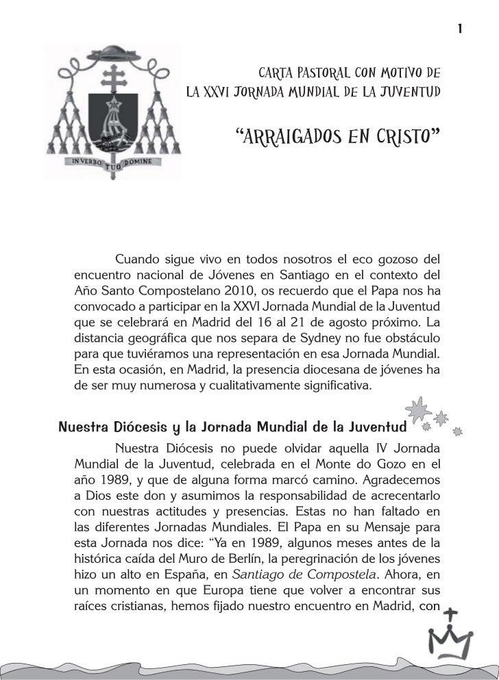 Carta JMJ en castellano