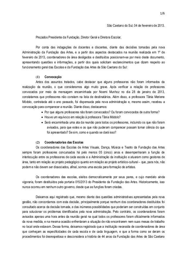 1/6                                                                   São Caetano do Sul, 04 de fevereiro de 2013.        ...