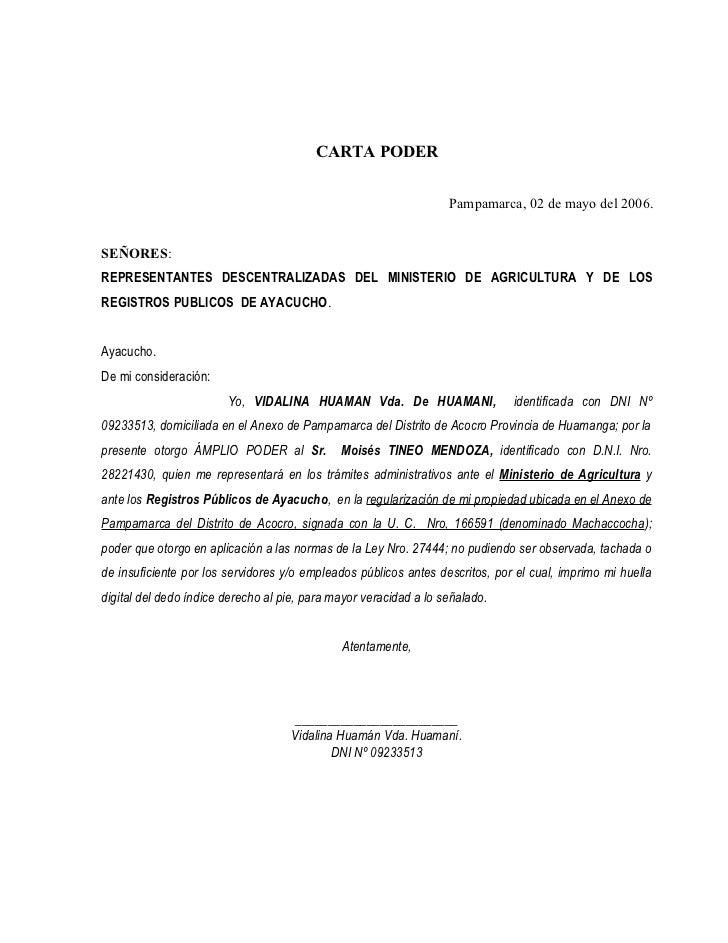 Modelo Carta Poder Simple Related Keywords - Modelo Carta