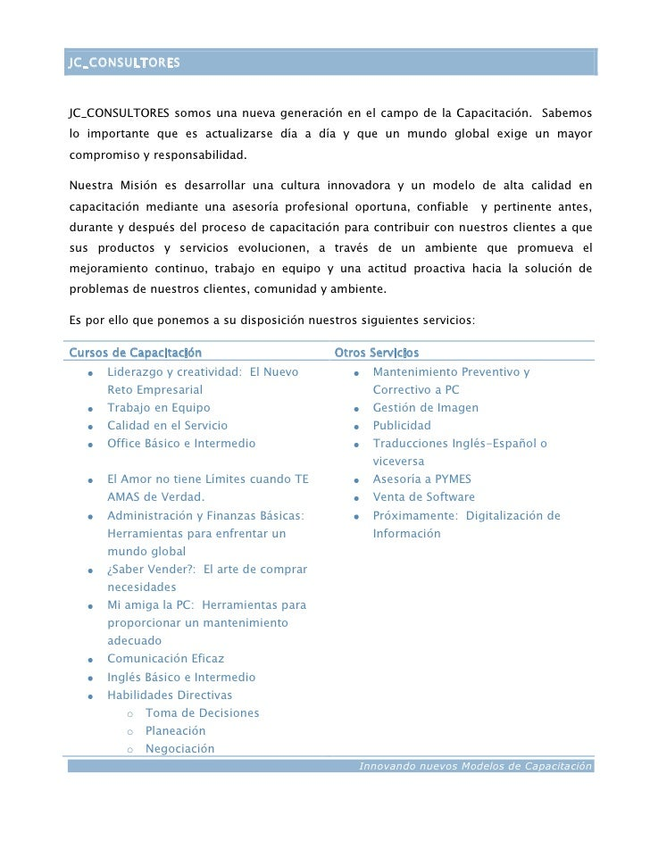 carta de presentacion empresarial - Gidiye.redformapolitica.co
