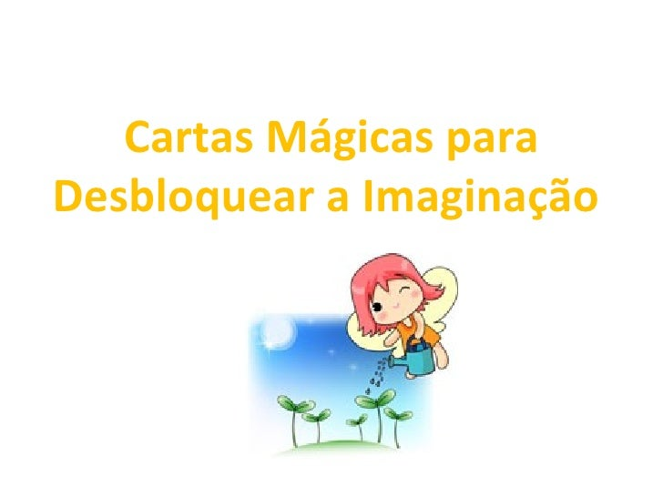 Cartas Mágicas para Desbloquear a Imaginação