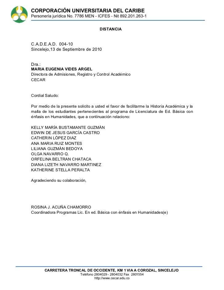 Cartas 2009