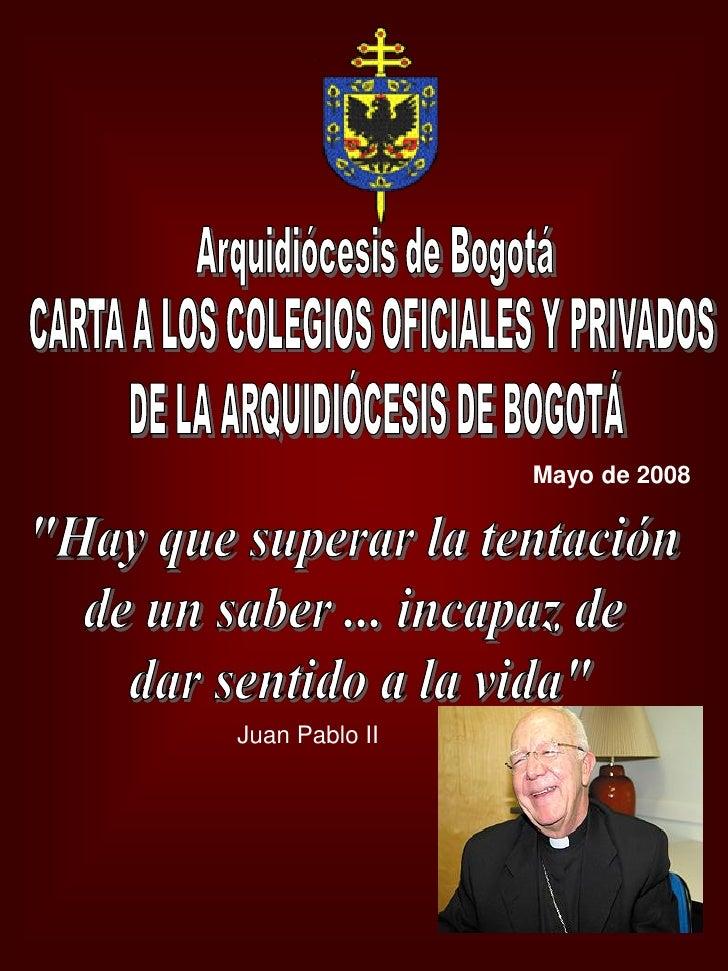 Mayo de 2008Juan Pablo II