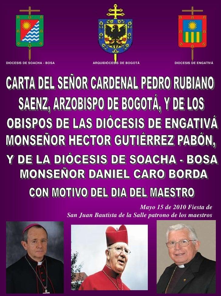 DIOCESIS DE SOACHA - BOSA            ARQUIDIÓCESIS DE BOGOTÁ       DIOCESIS DE ENGATIVÁ                                   ...