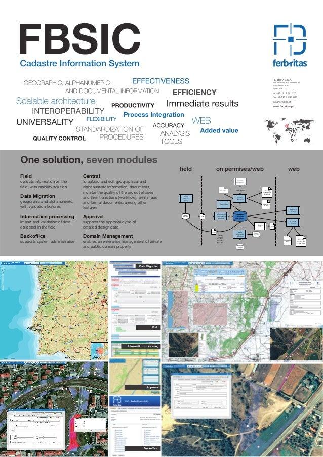 Cadastre Information System Poster - 2012 ENG