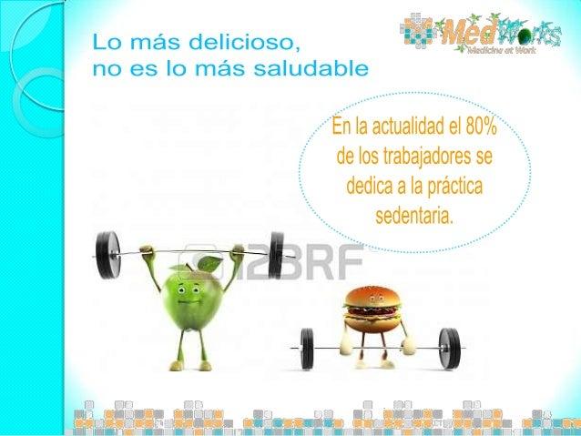 ¿Sabías que de hace 50 años a la fecha, mientras trabajan, las personas gastan 100 calorías menos, debido a que el sedenta...