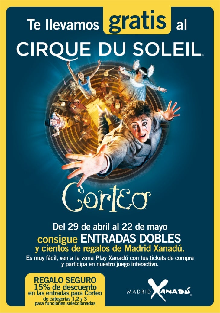 Circo del Sol Madrid Xanadú