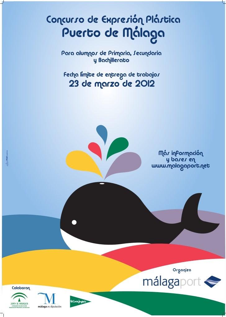 Cartel concurso Artes Plásticas 2012