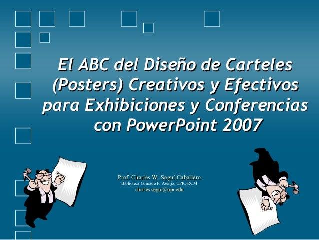 El ABC del Diseño de CartelesEl ABC del Diseño de Carteles (Posters) Creativos y Efectivos(Posters) Creativos y Efectivos ...