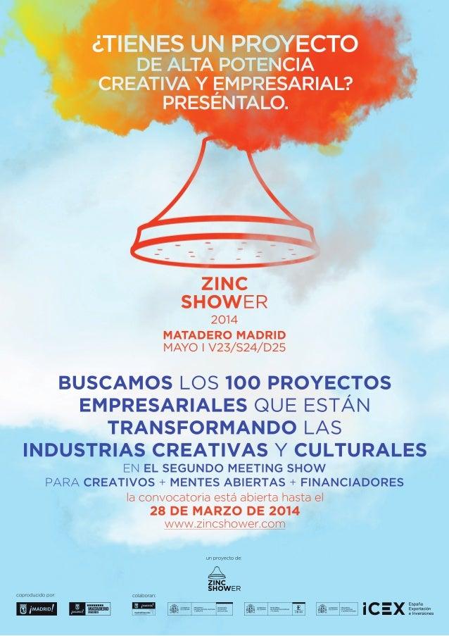 Cartel convocatoria Meeting-Show Zinc Shower 2014