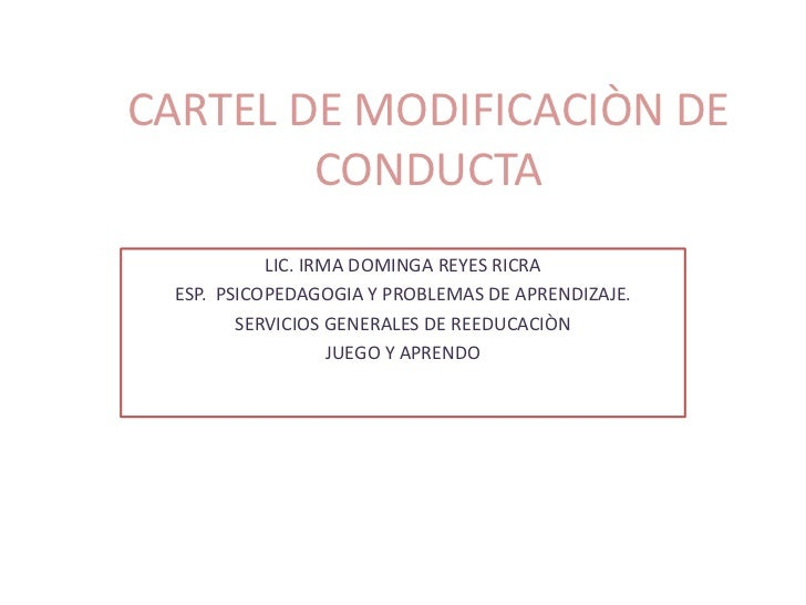 Cartel de modificaciòn de conduct appt2