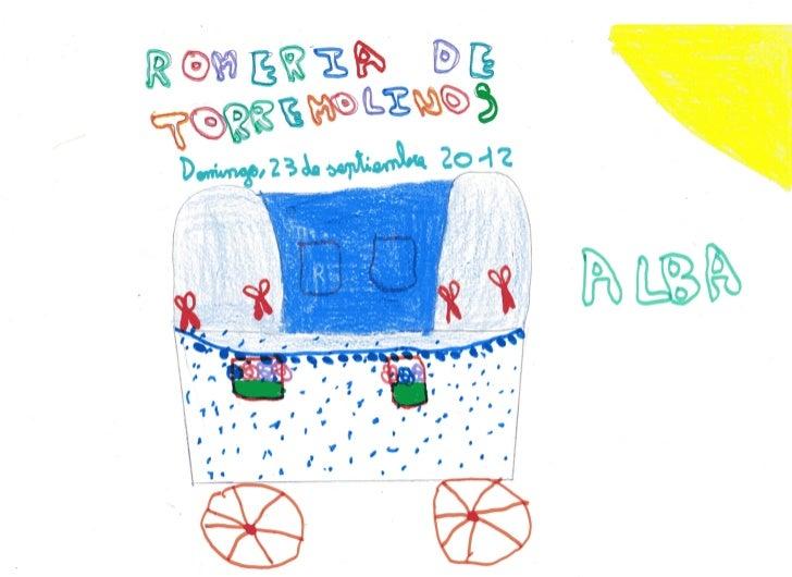 Carteles de la romería de torremolinos 2012