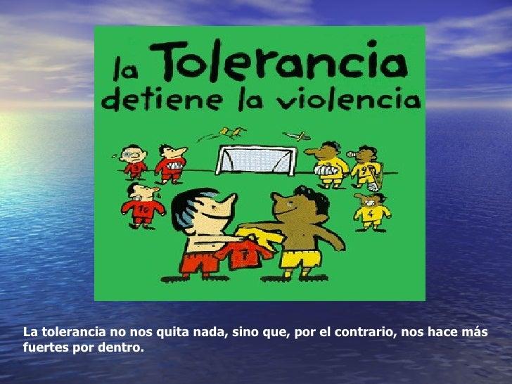 Carteles Sobre La Tolerancia Para Los NiñOs