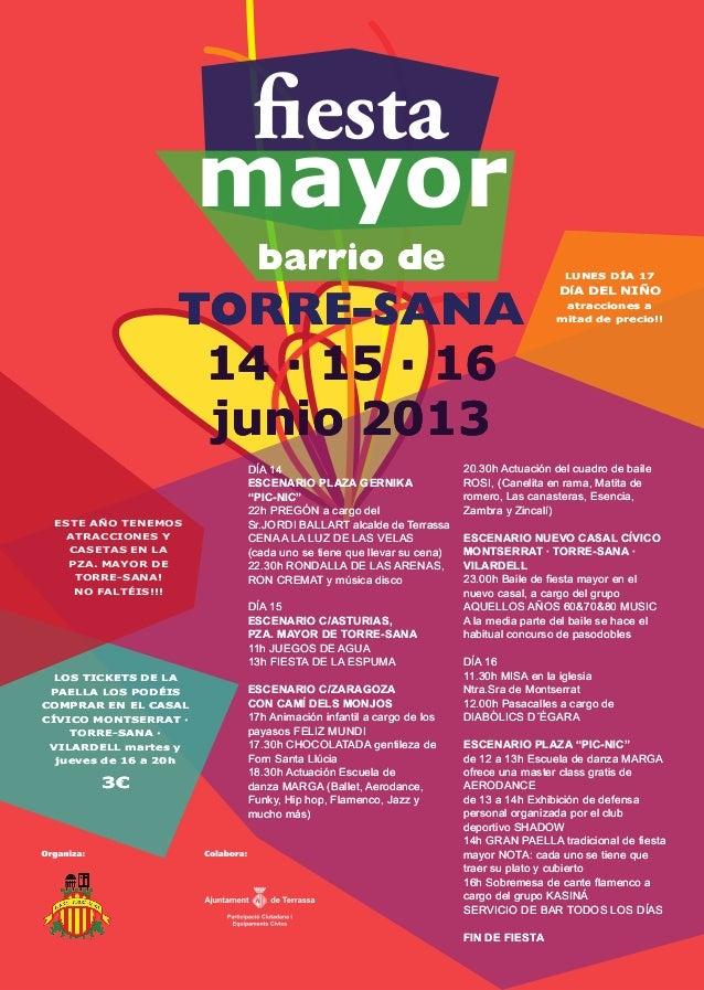 Festa major de Torre-sana
