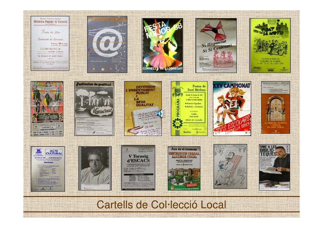 Cartells de Col·lecció Local