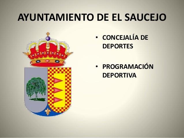 INFORMACIÓN DEPORTIVA EN EL SAUCEJO