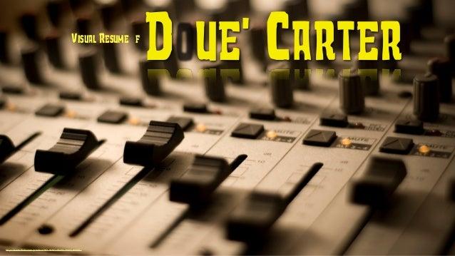 """Visual Resume of                                                                 Doue' Carter""""http://www.flickr.com/photos/..."""