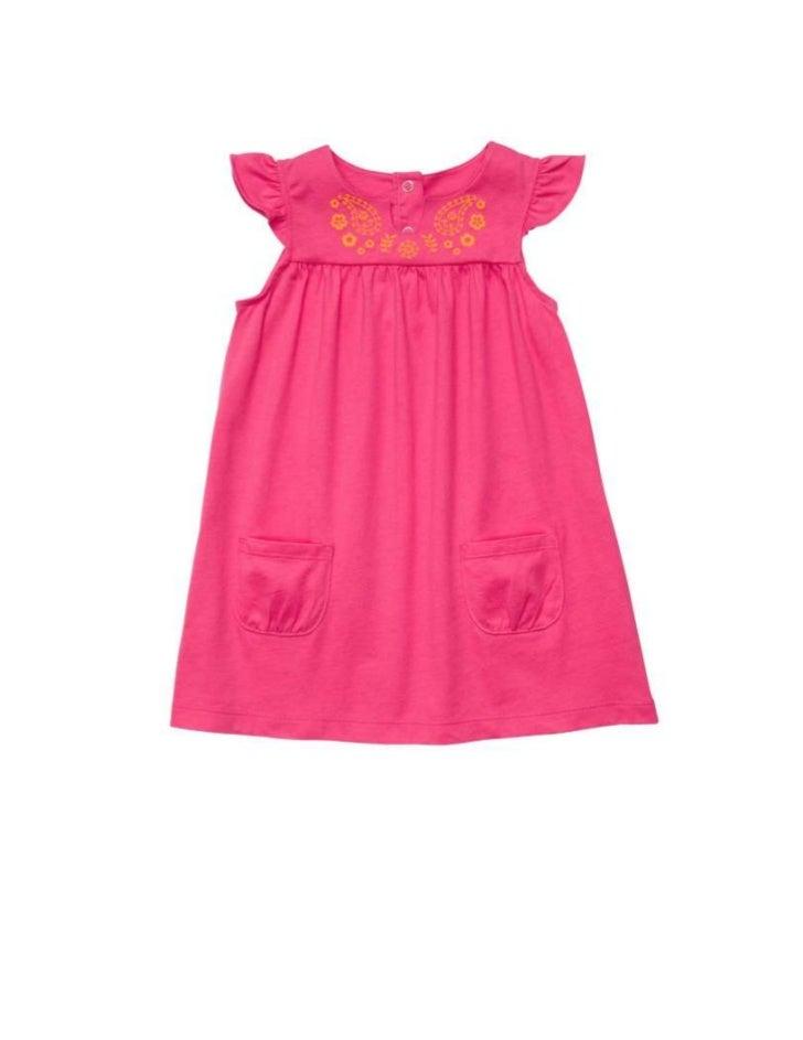 221. Flutter Sleeve Embroidered Dress SetMSRP: $18.00