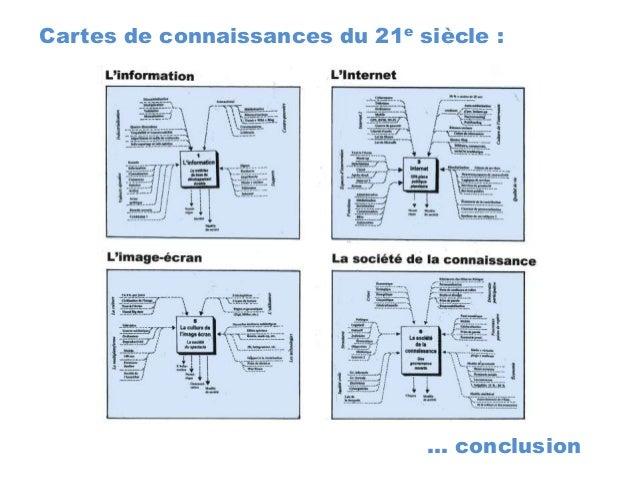 … conclusion Cartes de connaissances du 21e siècle :