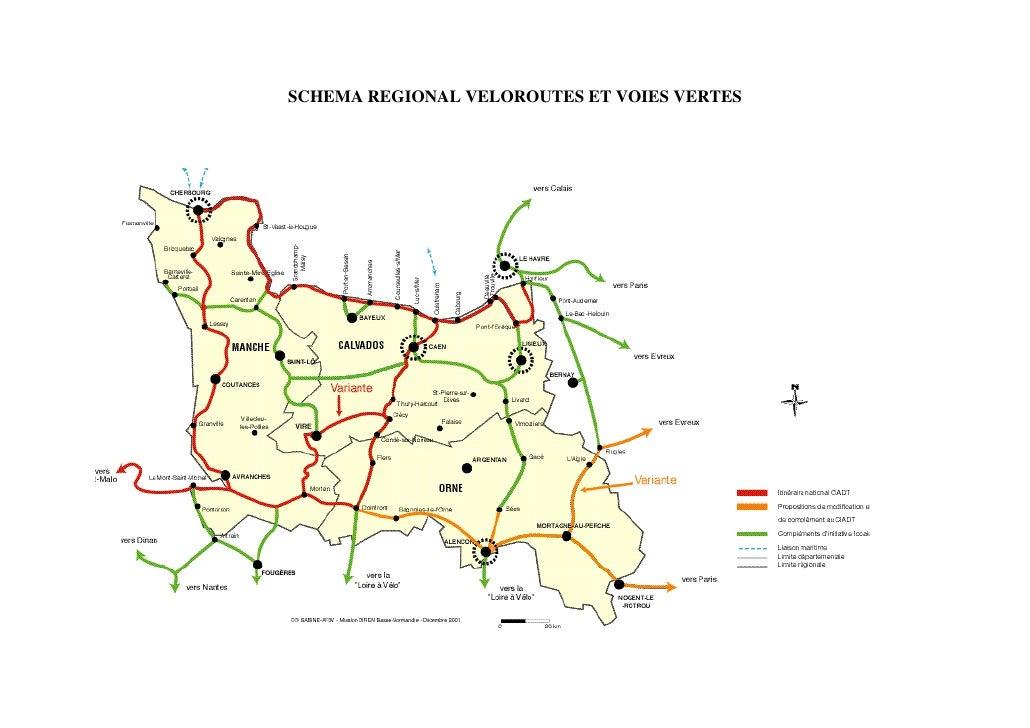 Carte schéma régional bn vvv