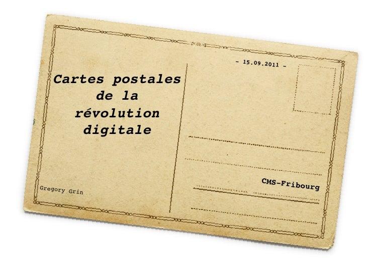 """- 15.09.20                                  11   -!   Cartes postales         de la      révolution      digitale """"     ..."""