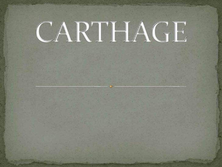 Carthage Draft 1