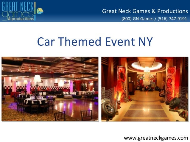 Great Neck Games & Productions                (800) GN-Games / (516) 747-9191Car Themed Event NY                 www.great...