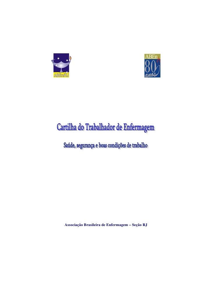 Associação Brasileira de Enfermagem – Seção RJ
