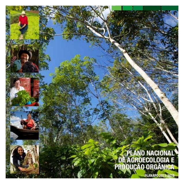 PLANO NACIONAL DE AGROECOLOGIA E PRODUÇÃO ORGÂNICA PLANAPO 2013-2015
