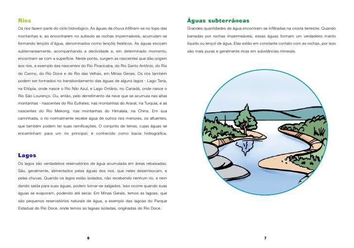 Rios                                                                                   Águas subterrâneas Os rios fazem pa...
