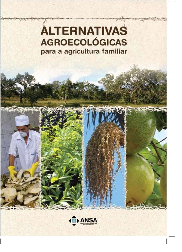 Cartilha alternativas agricultura familiar