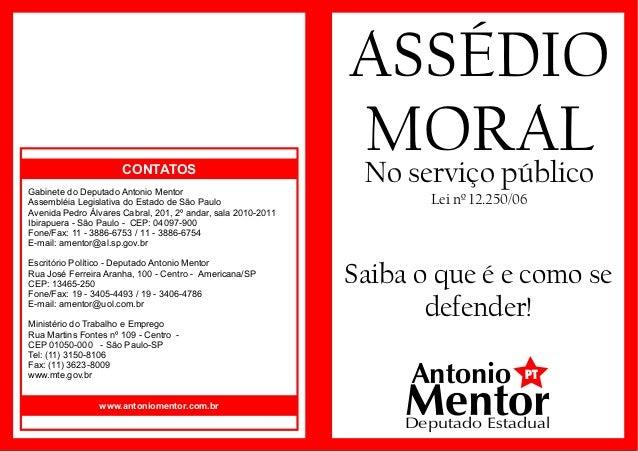 Cartilha assedio moral_-_antonio_mentor