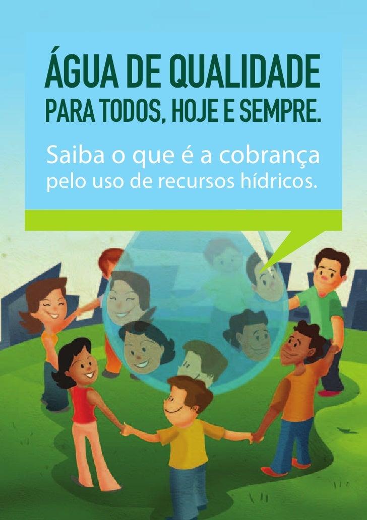 Cartilha Cobrança pelo Uso da Água CBH Rio Pará