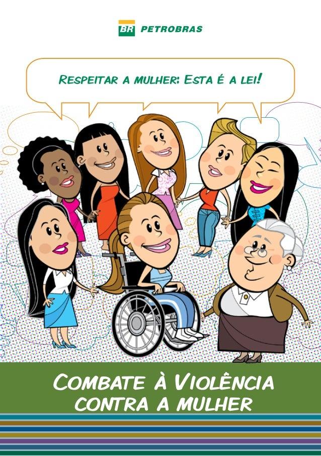 Cartilha combate  á  violência contra a mulher