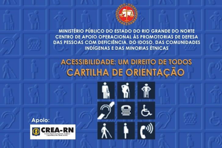 MINISTÉRIO PÚBLICO DO ESTADO DO RIO GRANDE DO NORTE          CENTRO DE APOIO OPERACIONAL ÀS PROMOTORIAS DE DEFESA         ...