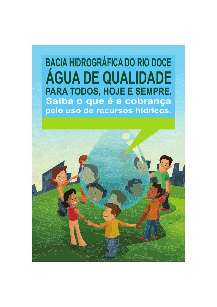 Cartilha sobre a Cobrança na Bacia Hidrográfica do Rio Doce