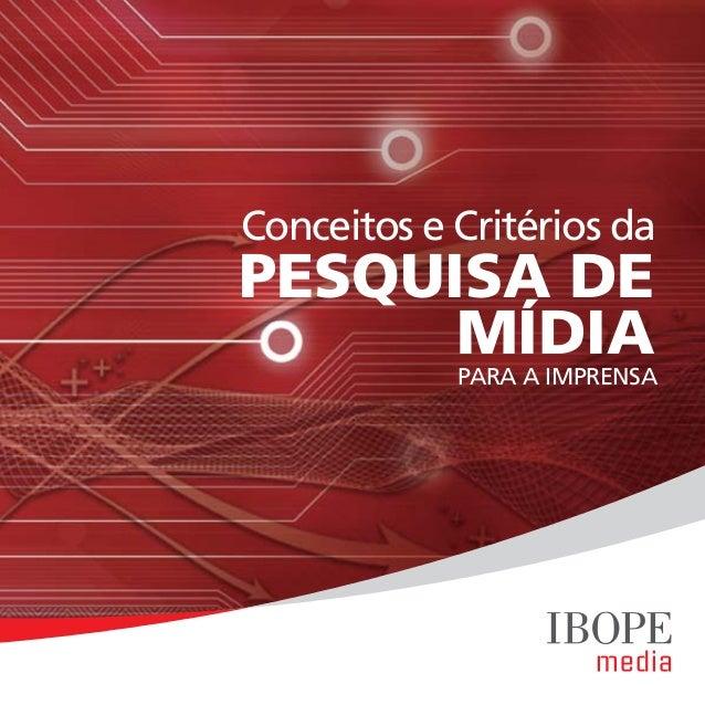 Cartilha de Mídia IBOPE