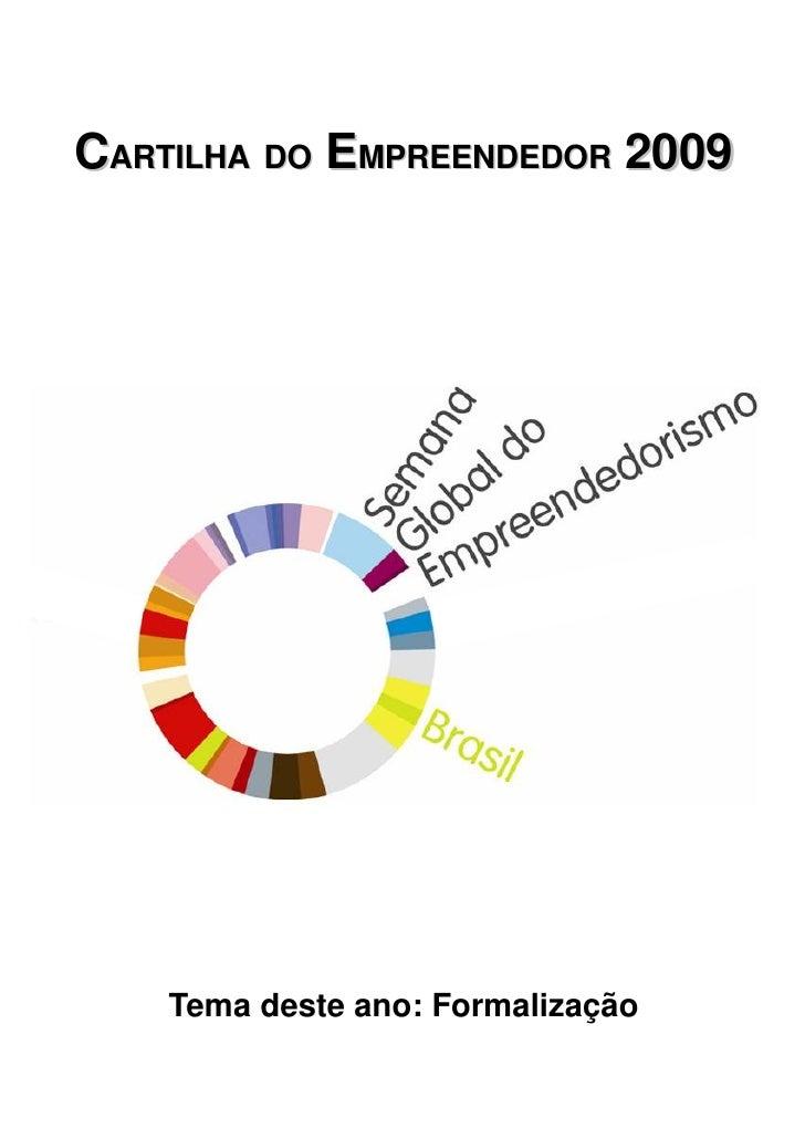 Cartilha do Empreendedor