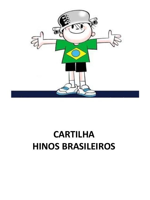 Cartilha hinos brasileitos