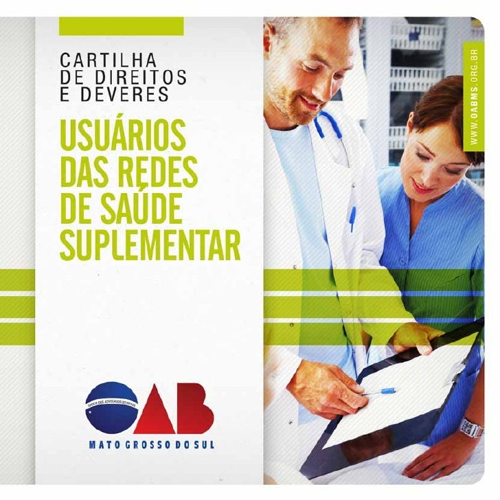 Cartilha de Direitos e Deveres dos Usuários das Redes de Saúde suplementar   1