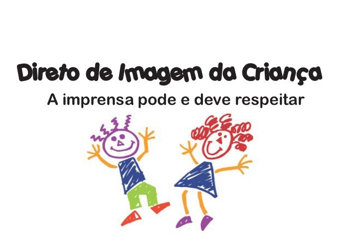 Cartilhao Direito de Imagem da Criança e Adolescente
