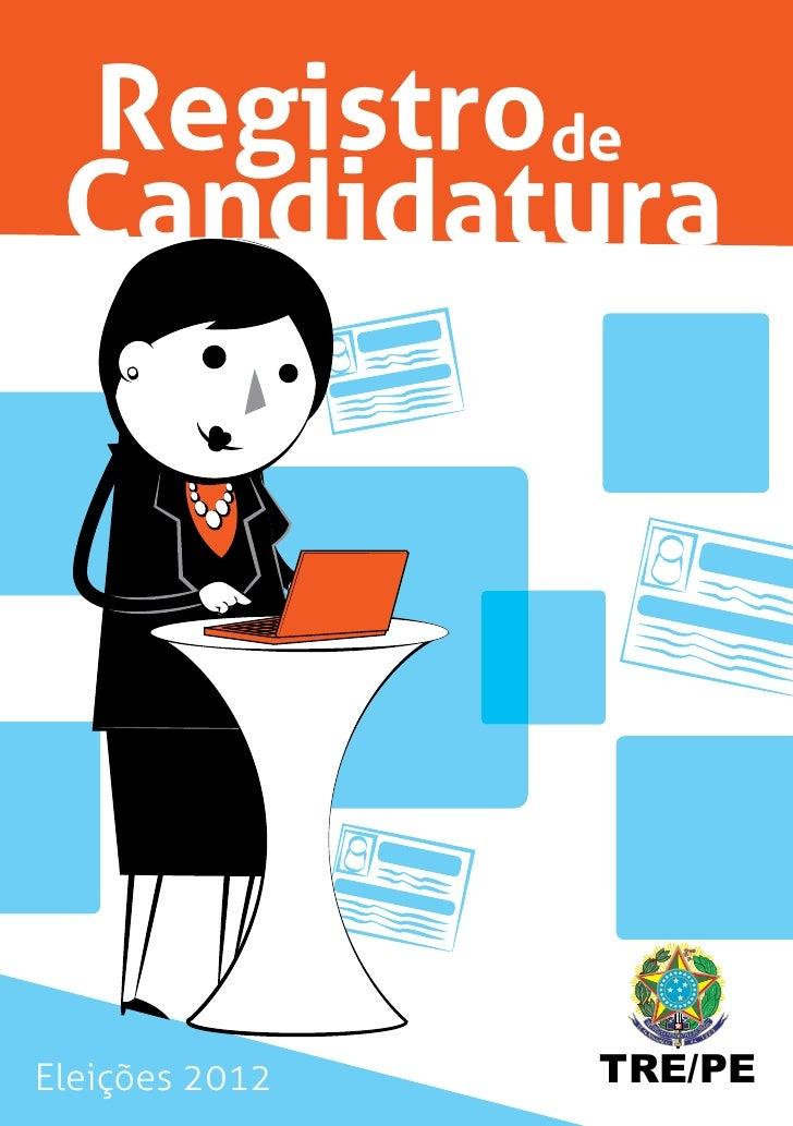 Registrode CandidaturaEleições 2012   TRE/PE