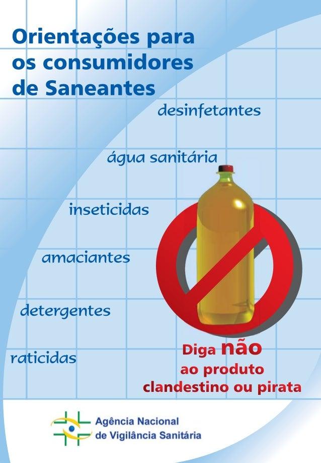 Cartilha Saneantes
