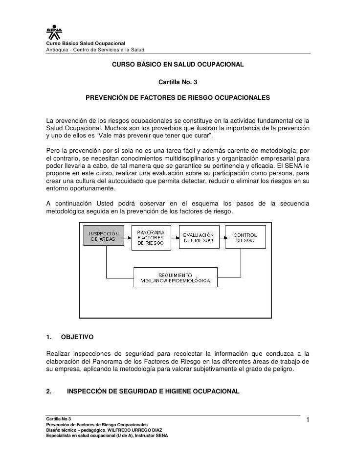 Curso Básico Salud OcupacionalAntioquia - Centro de Servicios a la Salud                               CURSO BÁSICO EN SAL...