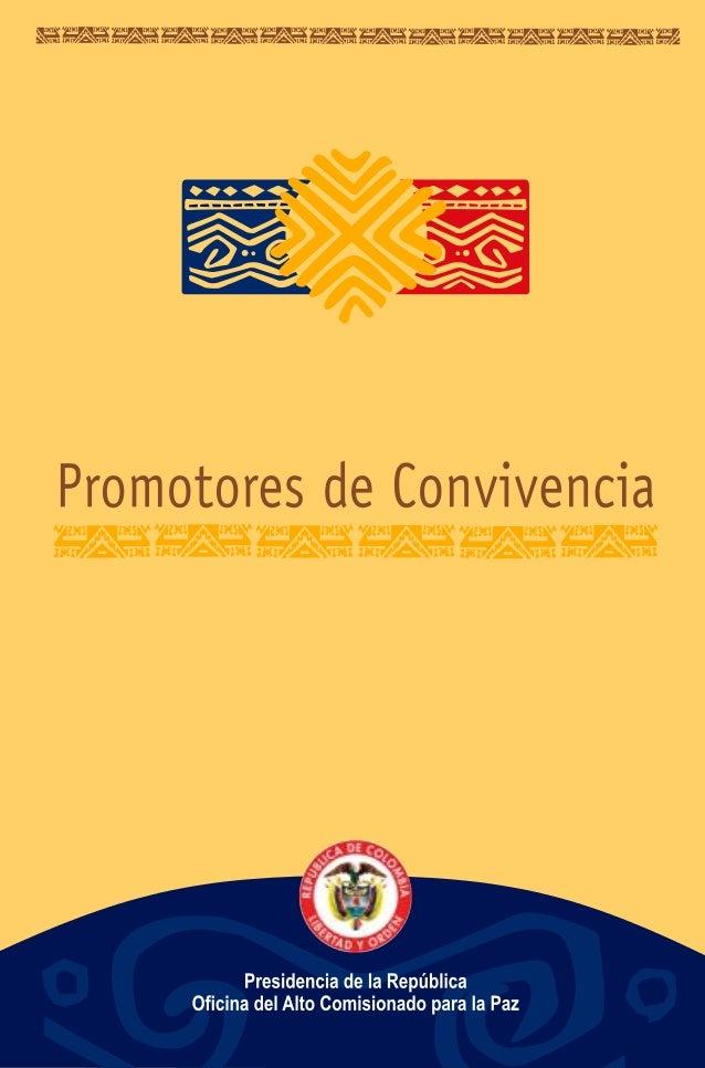 CARTILLA PROMOTORES DE CONVIVENCIA
