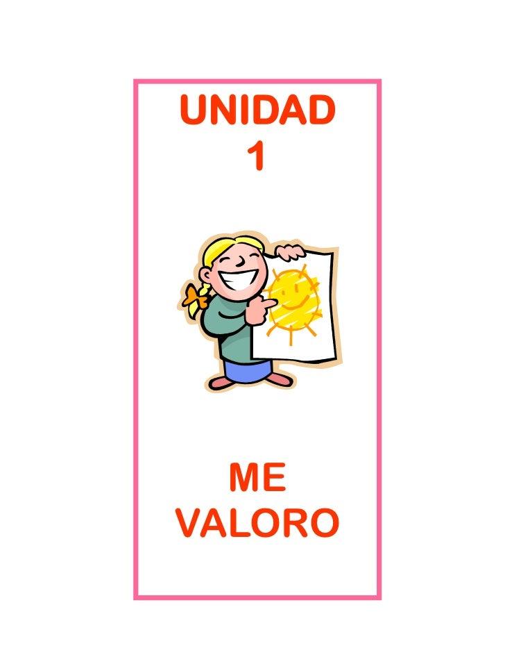 UNIDAD   1  MEVALORO