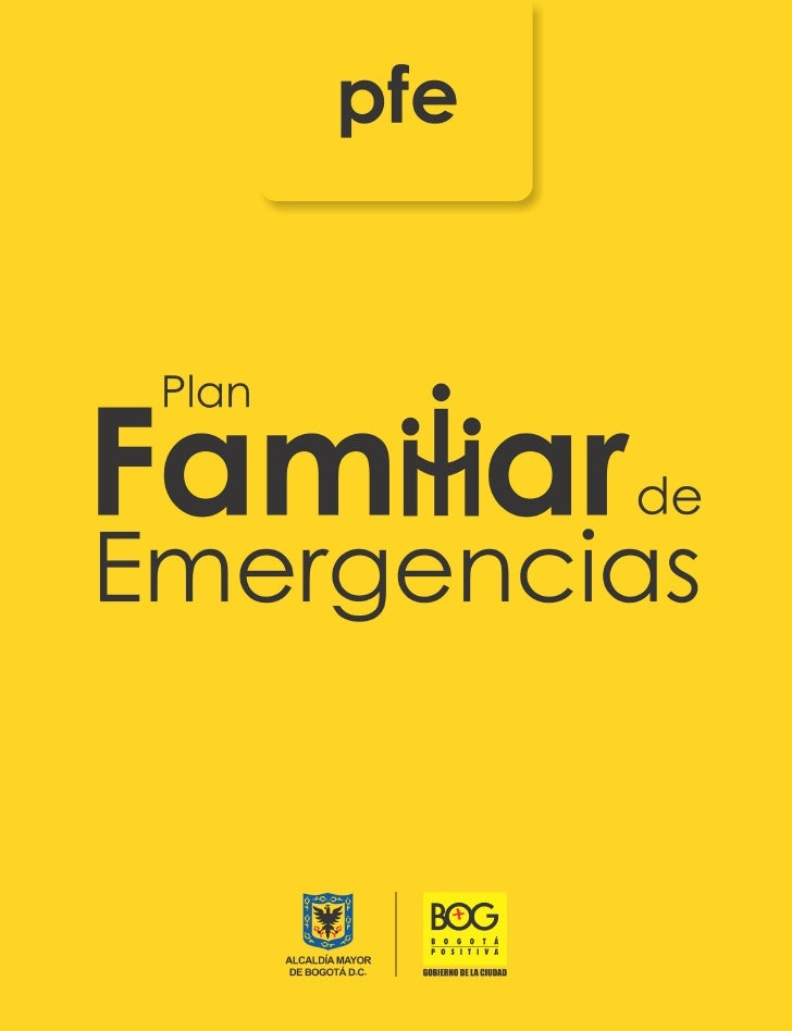 Plan Familiar de Emergencias                                                    Publicación del Fondo de Prevención y Aten...