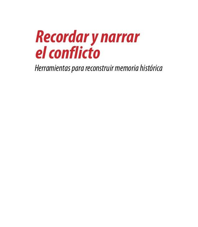Cartilla memoria historica texto