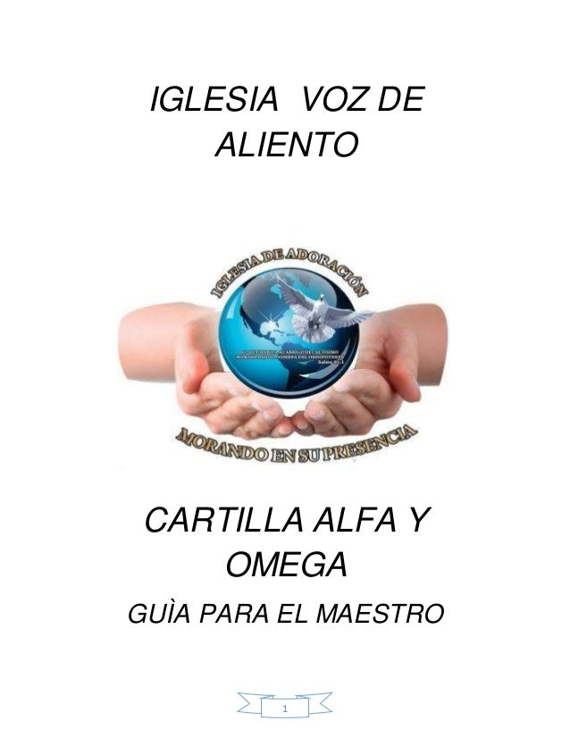 1 IGLESIA VOZ DE ALIENTO CARTILLA ALFA Y OMEGA GUÌA PARA EL MAESTRO